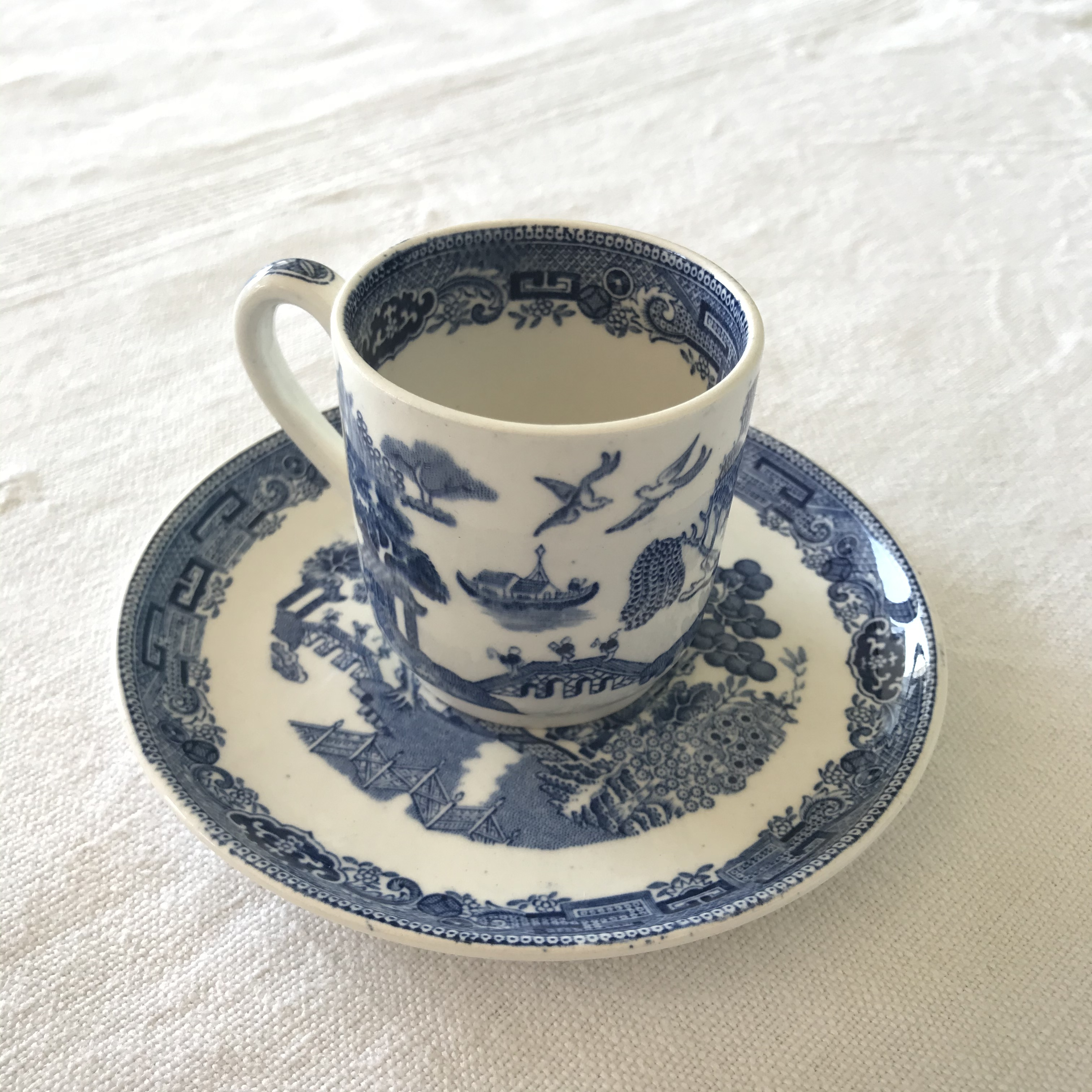 ウィローのコーヒーカップ