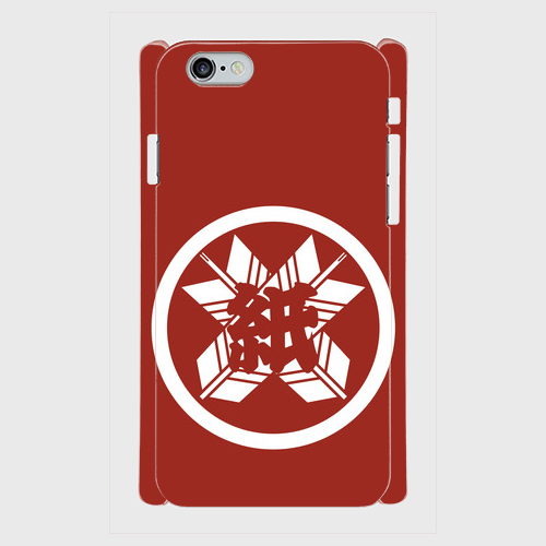 ※受注発注 iPhone だんじり紙屋町-red スマホケース