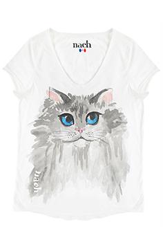 ナッシュ Tシャツ ネコ