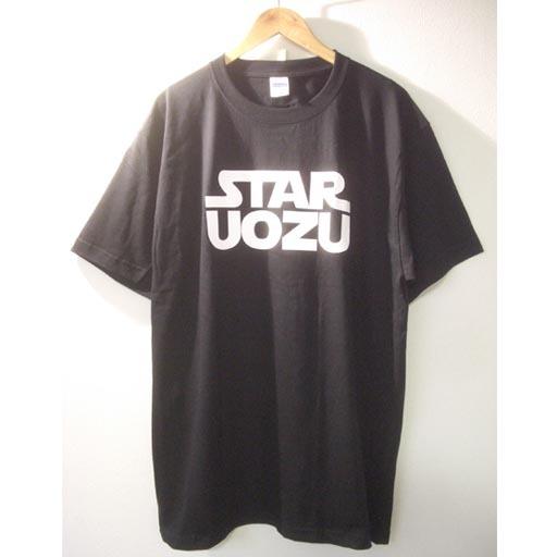 STAR UOZU ビッグサイズTシャツ【2XL & 3XL】黒×白
