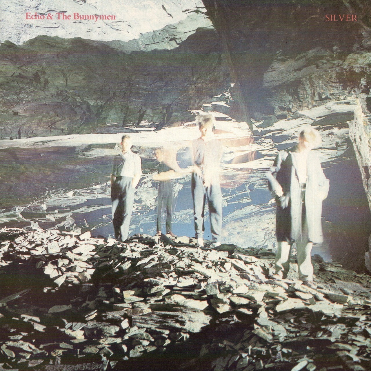 【7inch・英盤】Echo & The Bunnymen  /  Silver