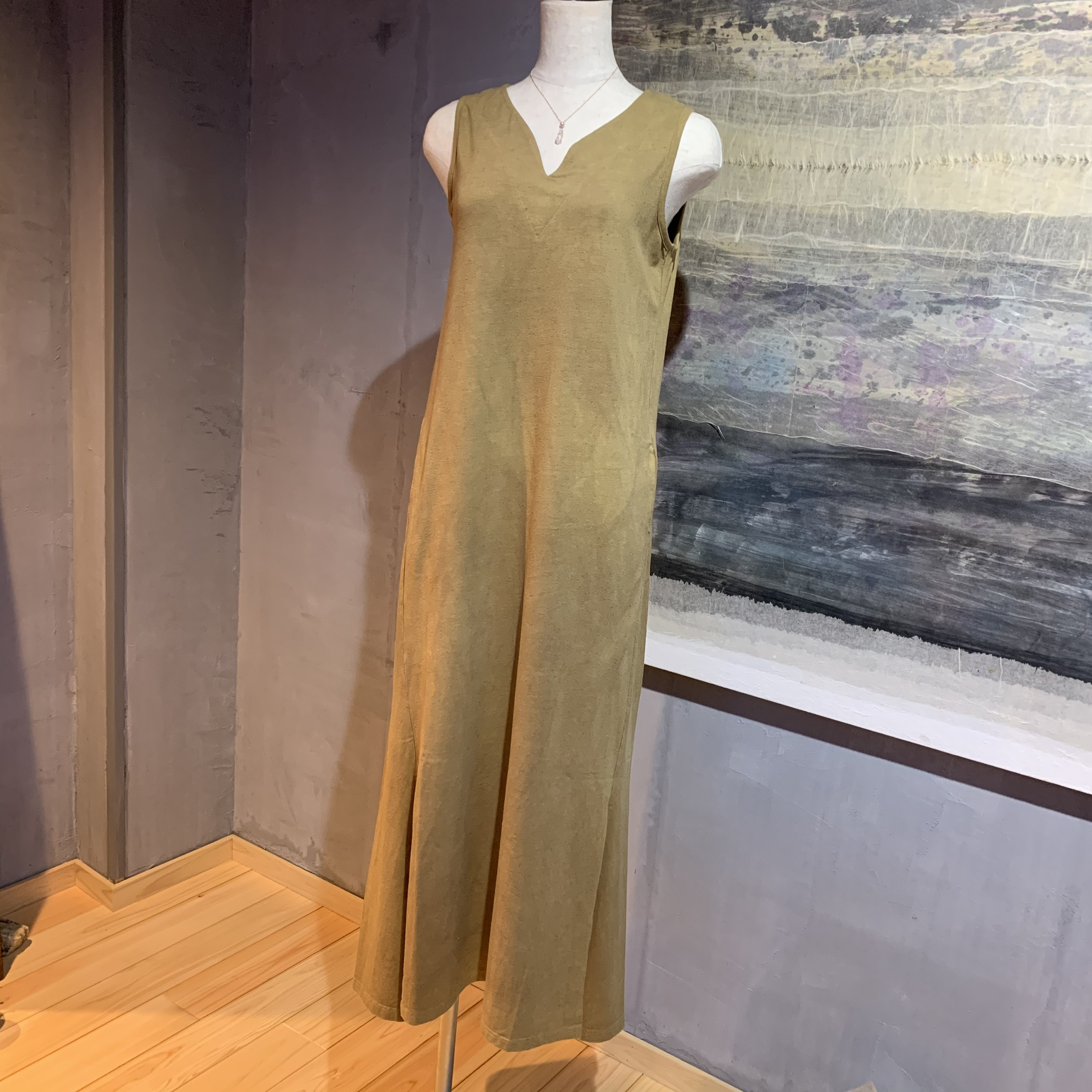 【予約販売受中】∞One Piece Dress∞ Bamboo/Spandex Jersey