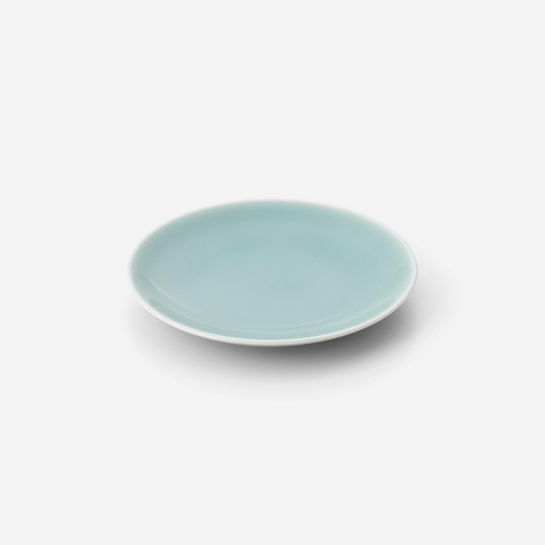 青磁 平皿(約14.5センチ)