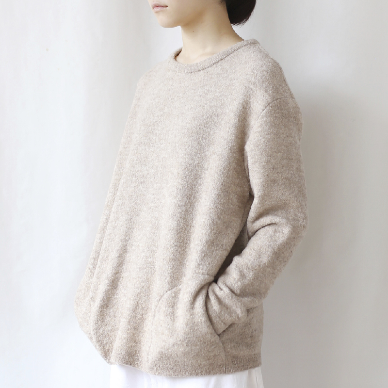 410001 Relax-fit Pullover(オイスター )
