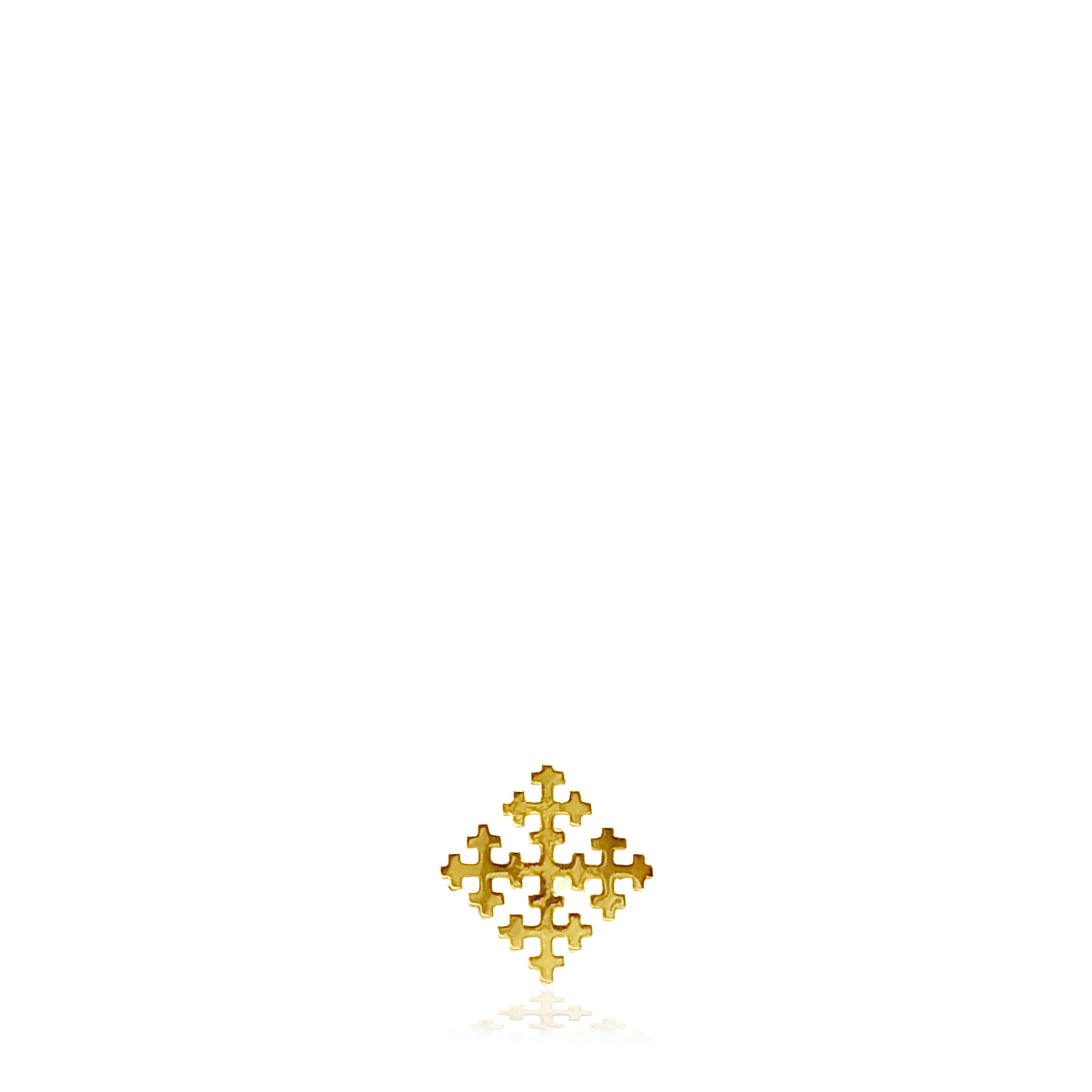 コルト スタッドピアス 【Special Cross - K10YG】