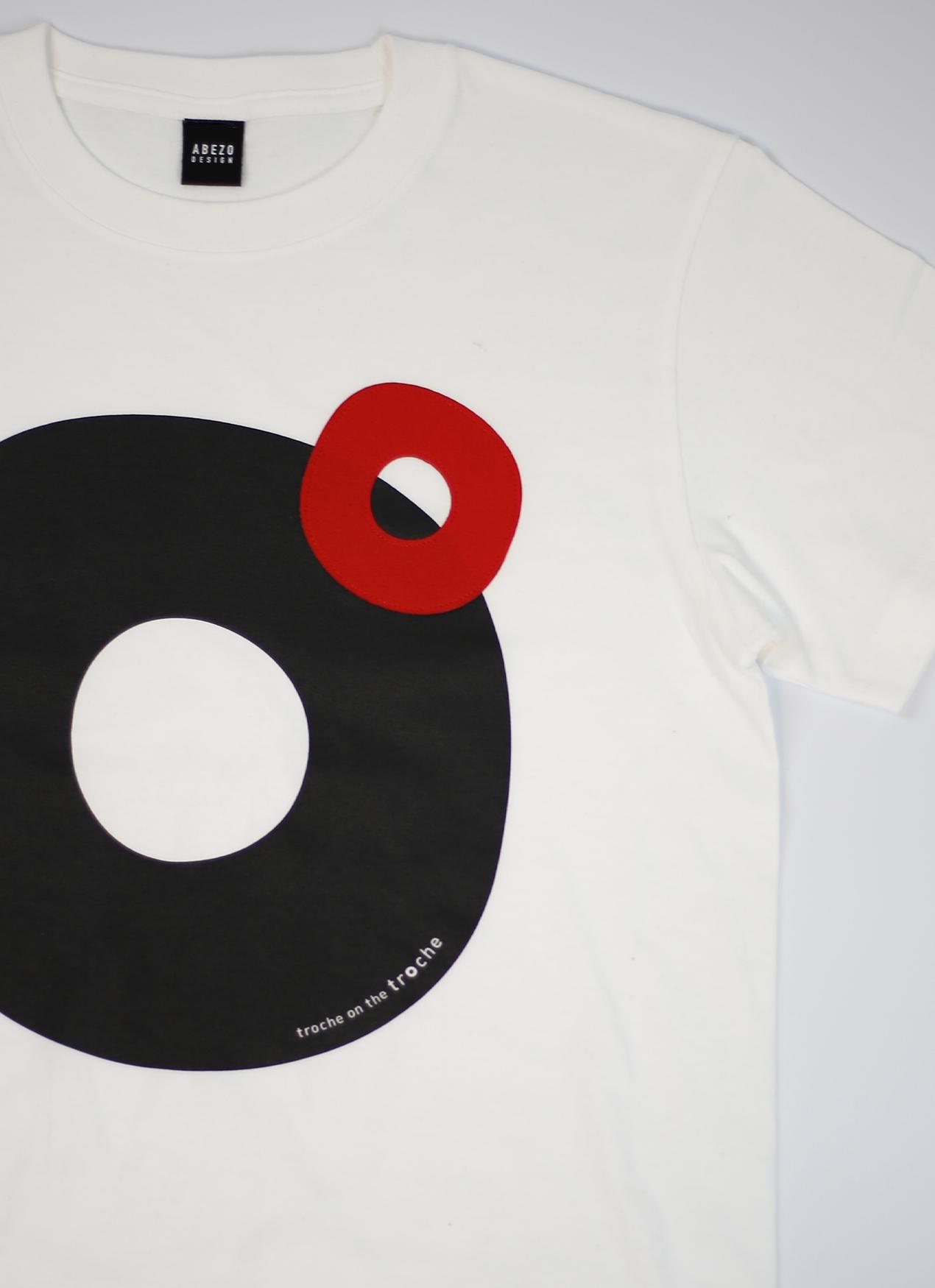 troche T-shirt white