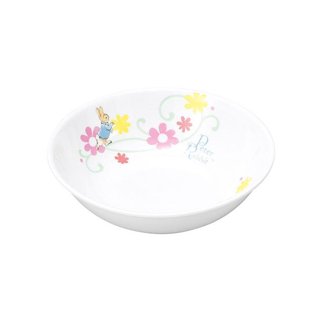 【1159-7130】ピーターラビット 強化磁器 深小皿 フルール
