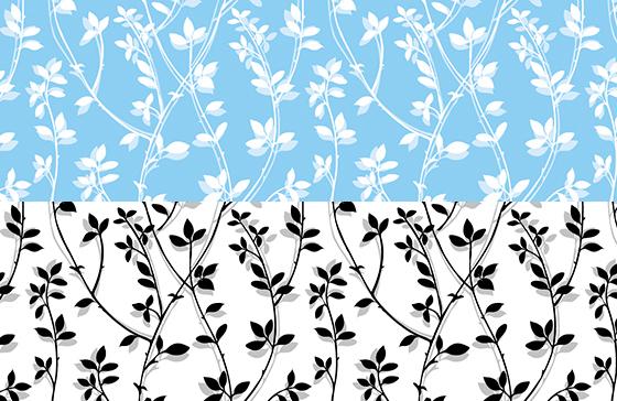 【割引】ガラス用 BRANCH ブランチ転写紙2色セット(ポーセリンアート転写紙)