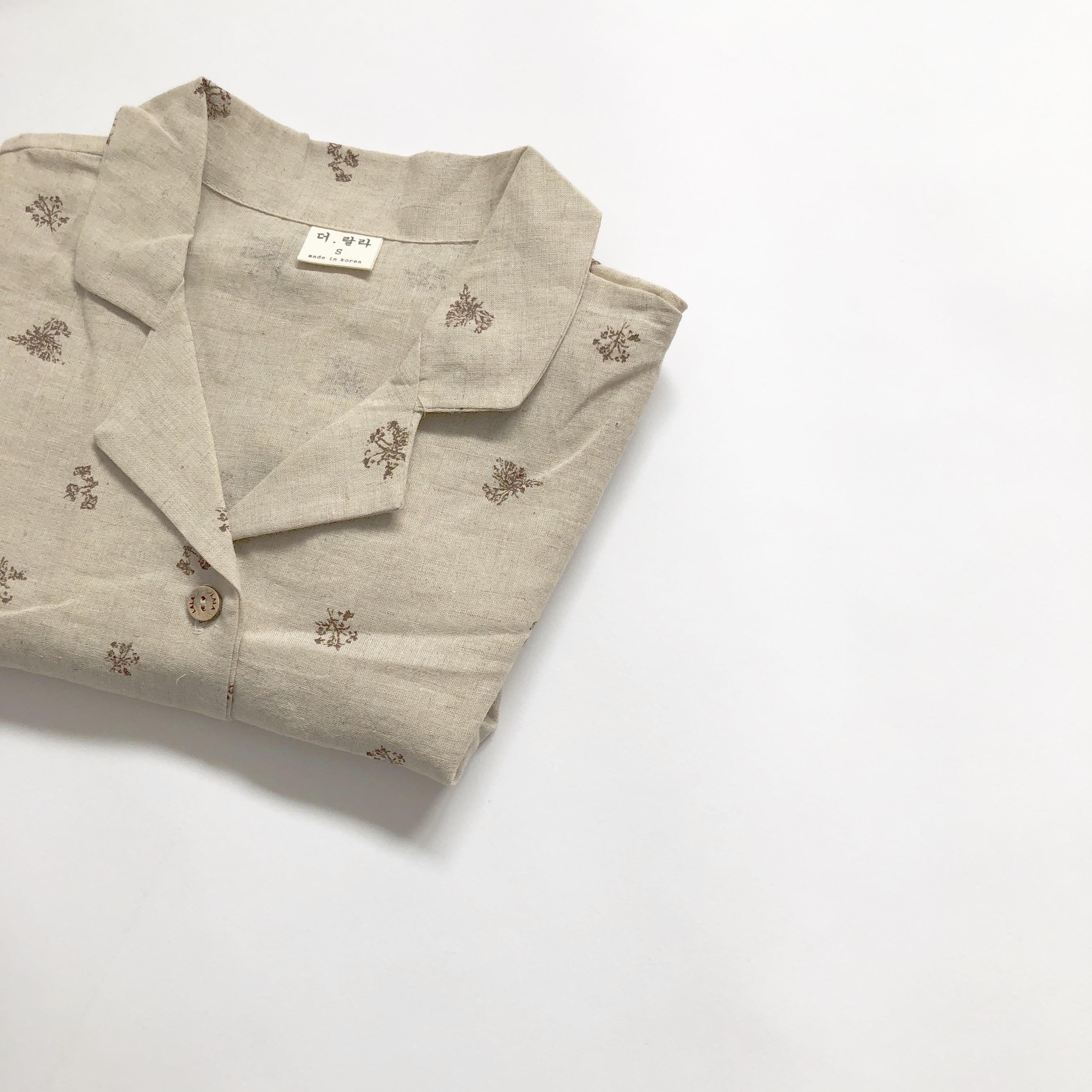 〈 207 〉Allium shirt