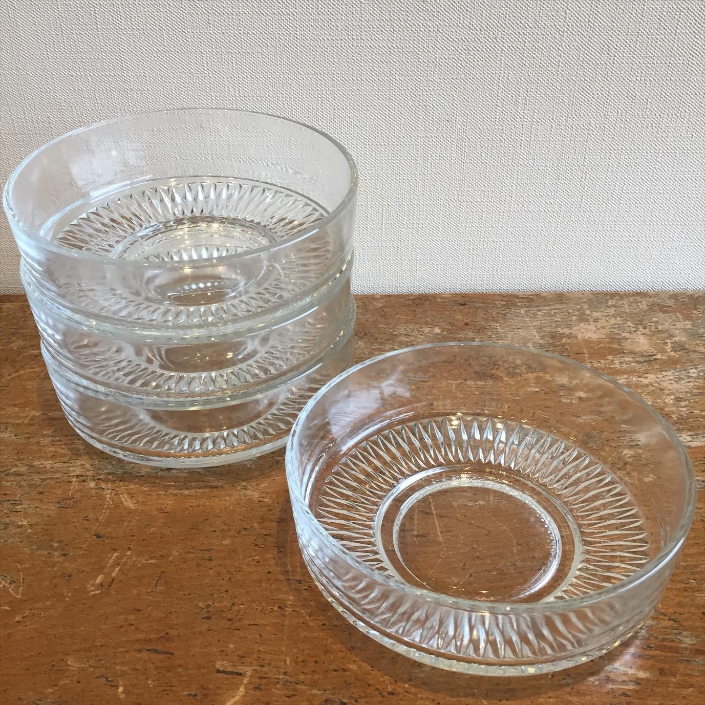 HOYAクリスタル ガラス小鉢(大)