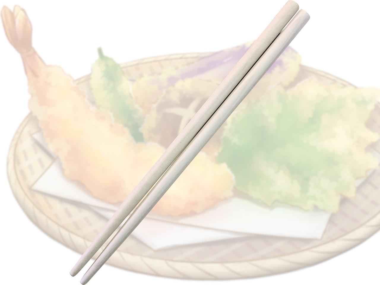 木製 「天ぷらころも箸」 ポストIN発送対応商品