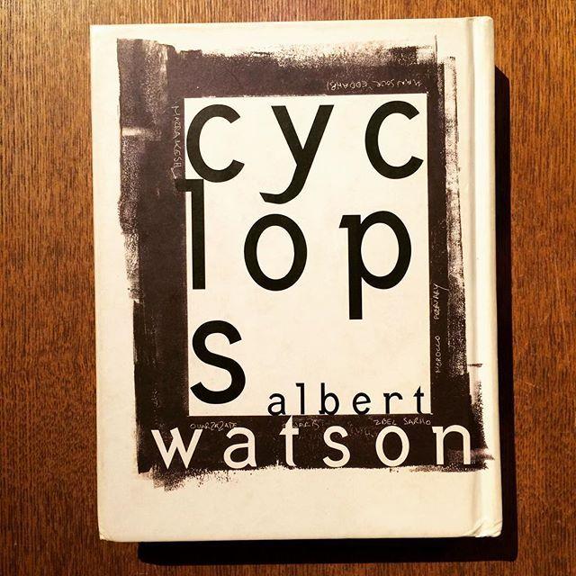 写真集「Cyclops/Albert Watson」 - 画像1