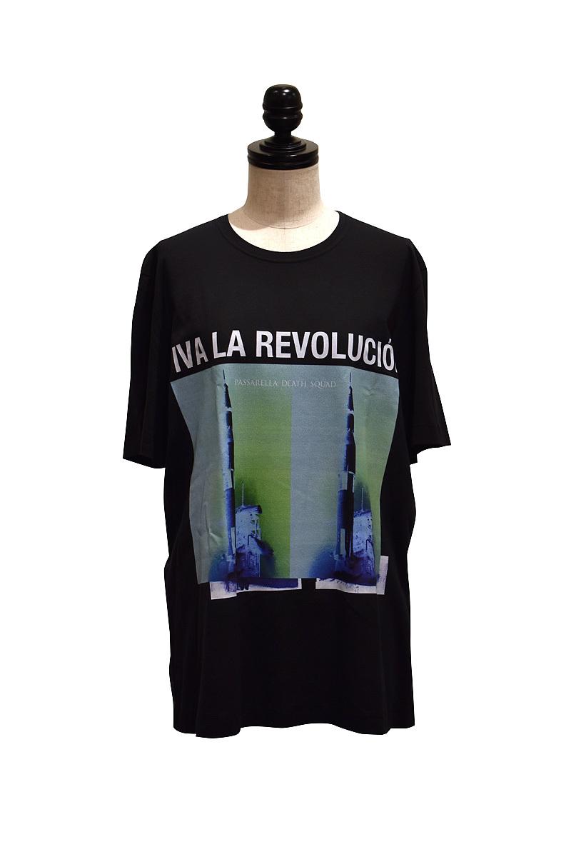 Passarella Death Squad / Viva la Revolución T-shirt / BLACK