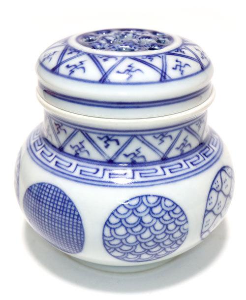 景徳鎮の壷型養盆(虫缶)