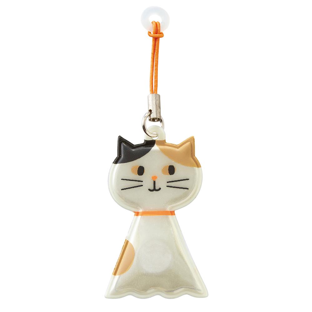 猫マグネットホルダー(傘ピタ)てるてるネコ