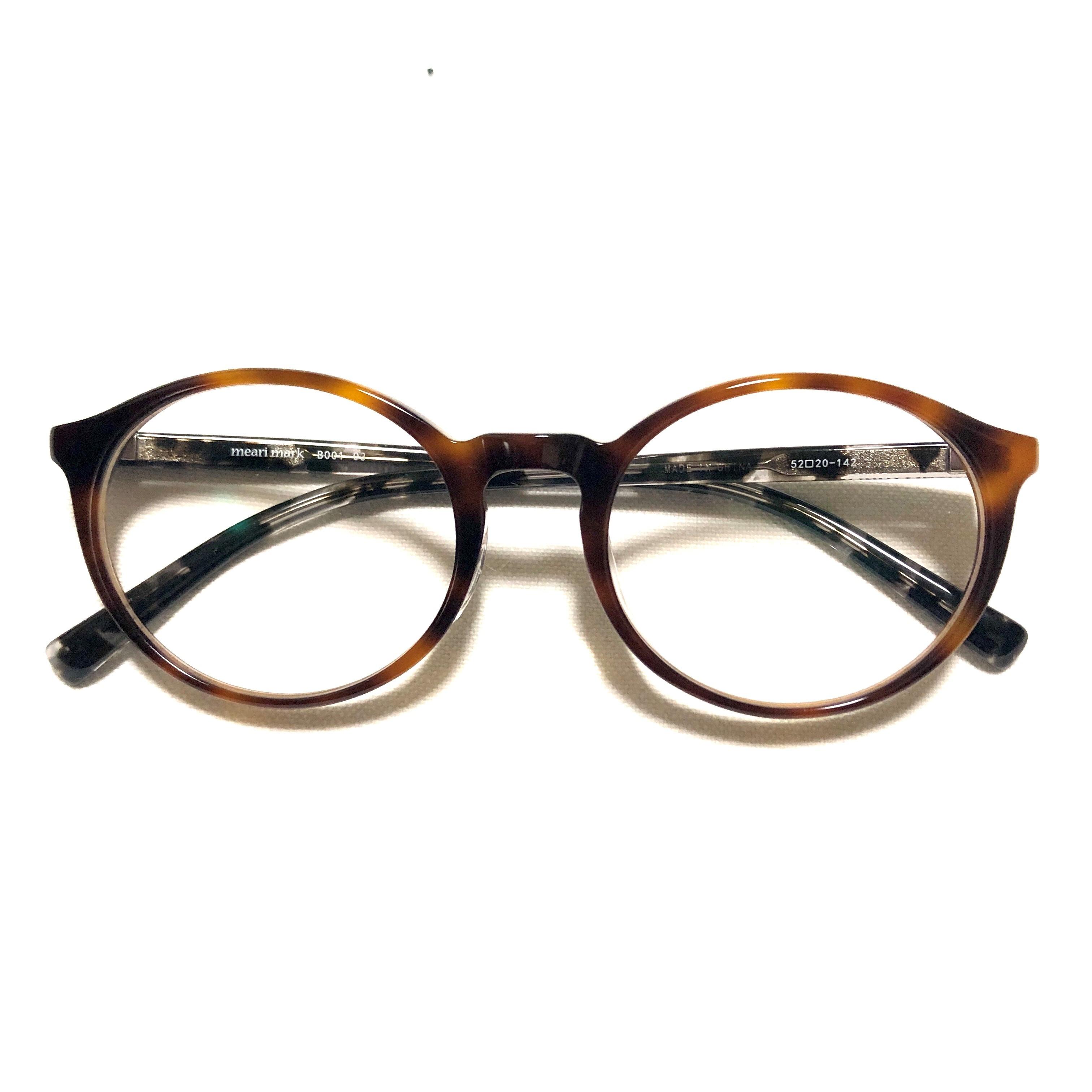 meari mark B001 03 (紫外線カットレンズ付きファッショングラス)