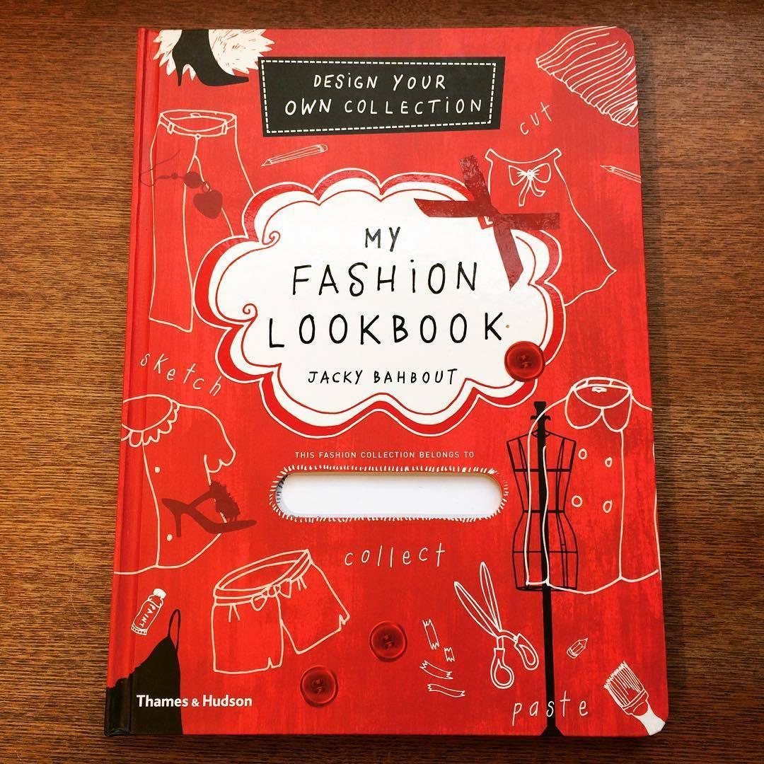 ファッションの本「My Fashion Lookbook/Jacky Bahbout」 - 画像1