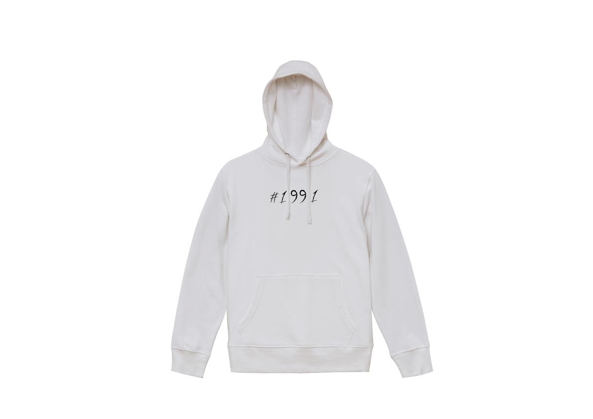 1991 hoodie(WHITE)