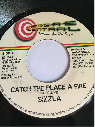 Sizzla(シズラ) - Catch The Place A Fire【7'】