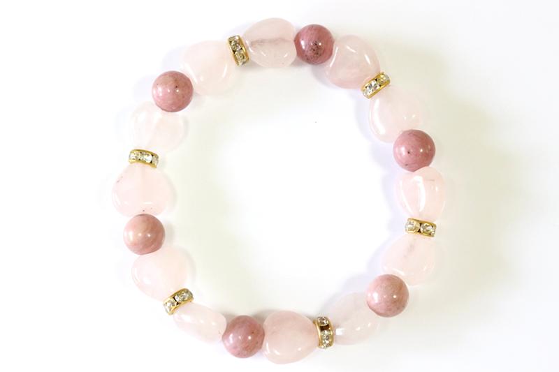 Pinky Rose ピンキーローズ【パワーストーンブレスレット】 - 画像3