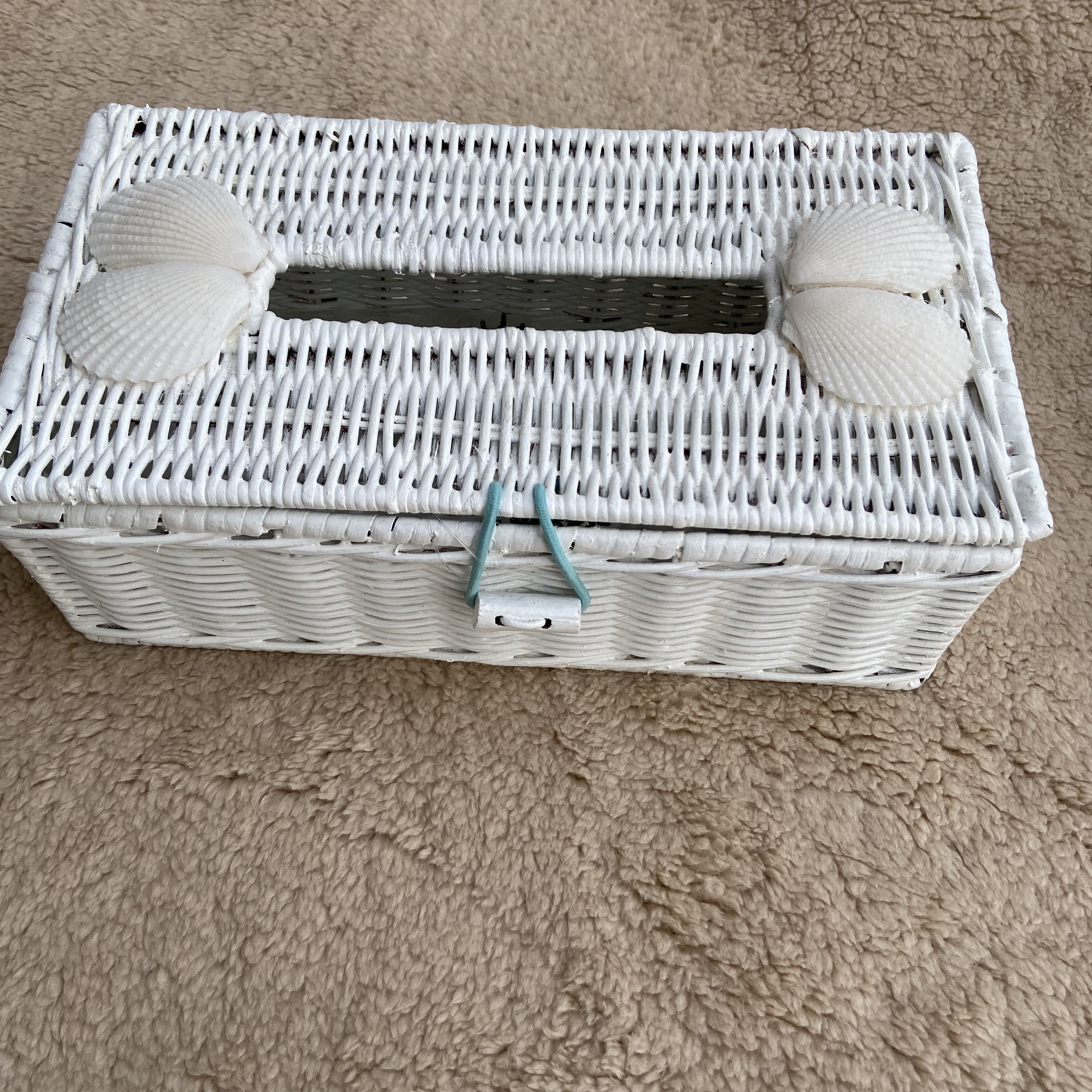 ラタン ティッシュboxケース