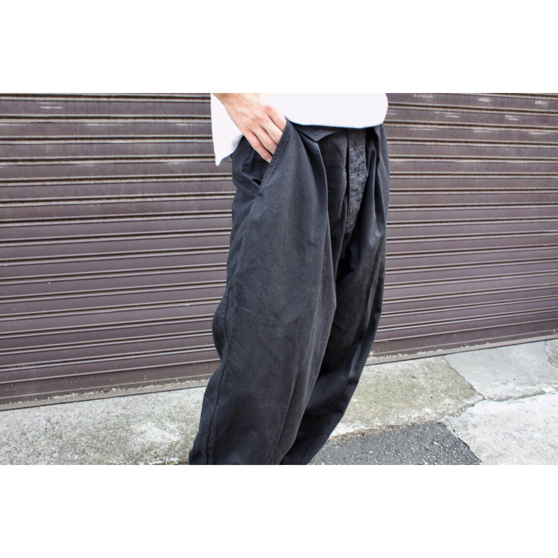 Vintage baggy silhouette pants by Katharin Hamnett