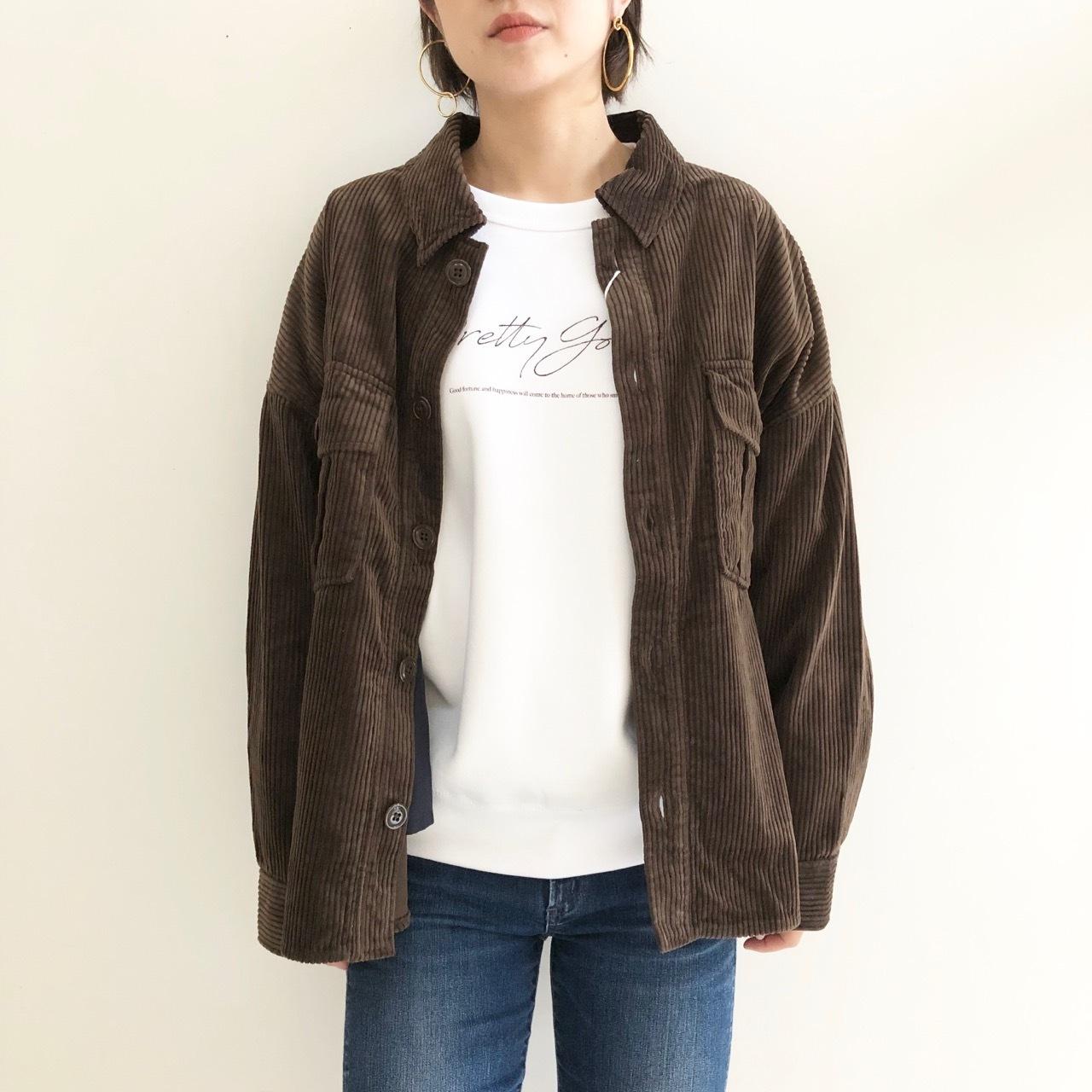 【 ANTGAUGE 】- AA601 - コーデュロイシャツジャケット