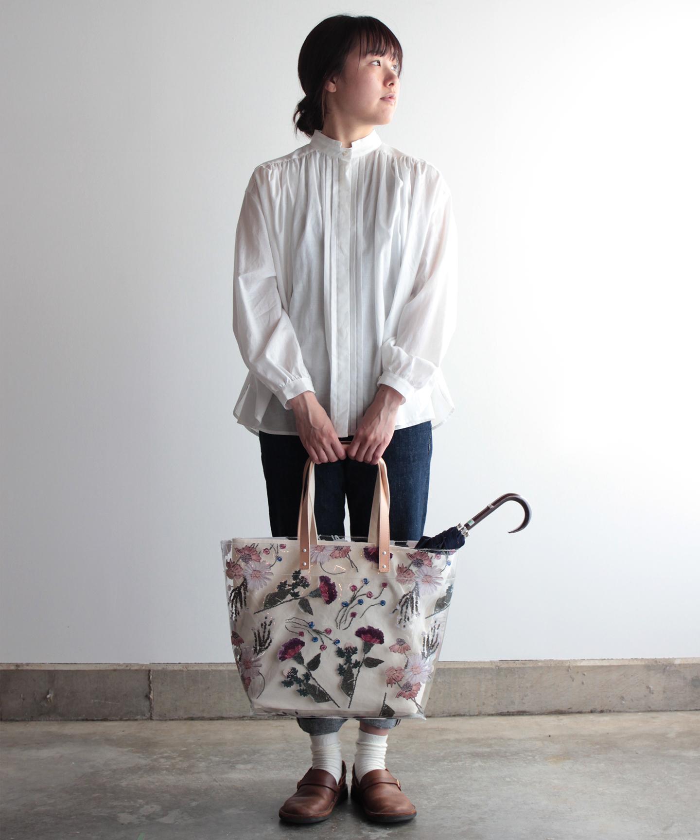 色糸花のトートバッグ  evi043