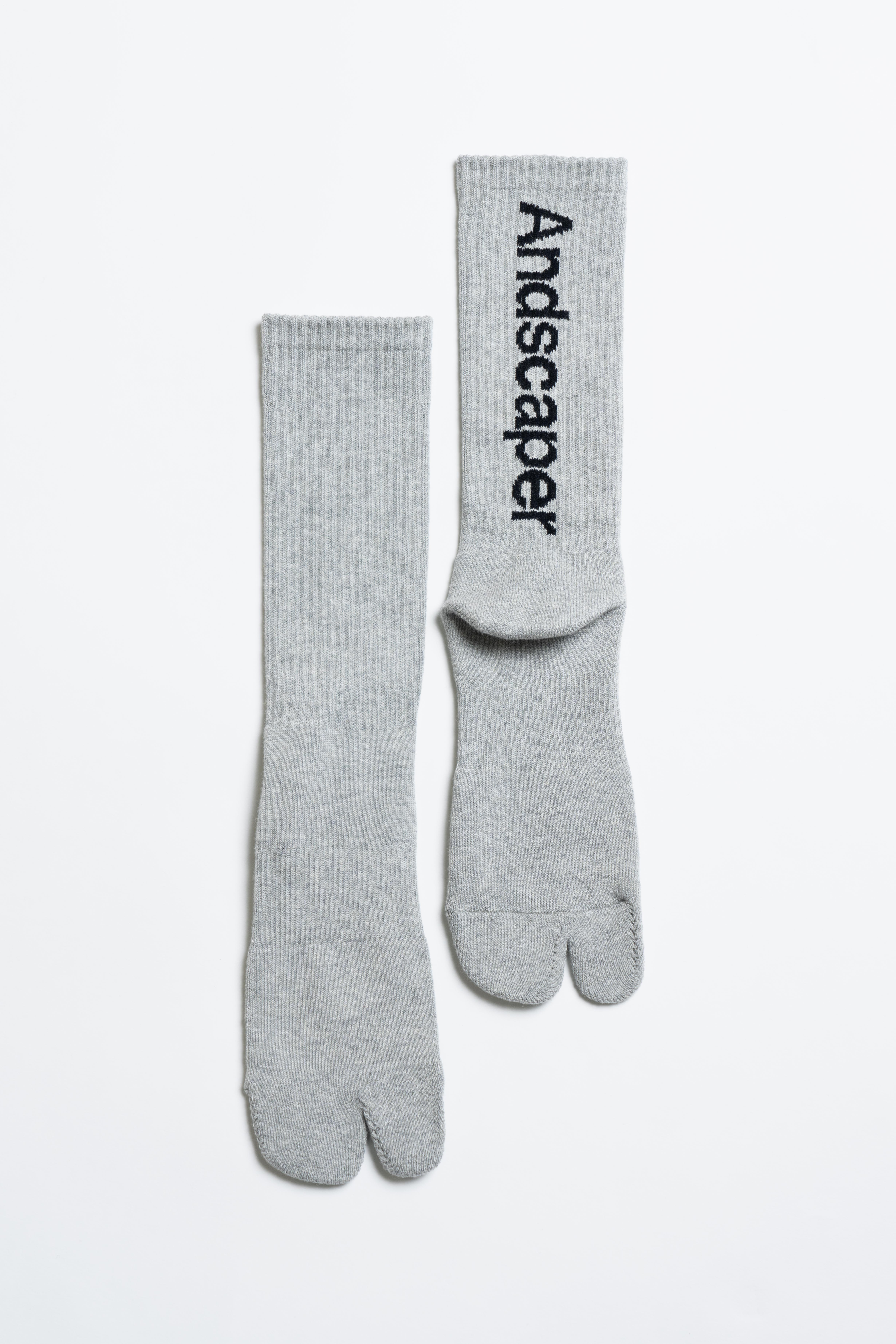 Concept Logo Socks(Gray × Black)