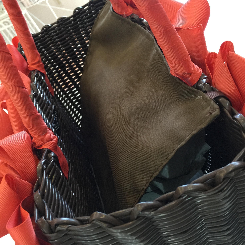 カゴバッグLサイズのフタ(布製のかぶせタイプ)カスタマイズメニュー