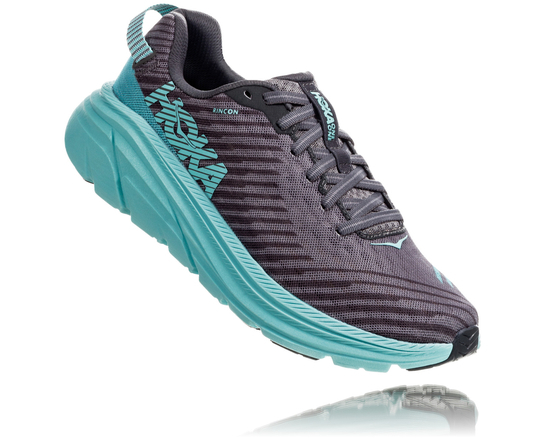 【30%OFF】HOKA ONE ONE / RINCON Women's 《Charcoal Gray × Aqua Sky》