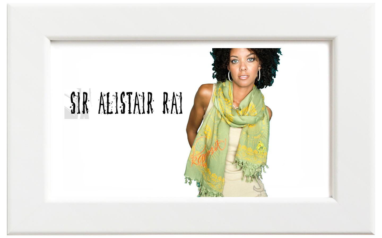 Sir Alistair Rai/サー・アリステア・レイ Gayatri Mantra Karma スカーフ