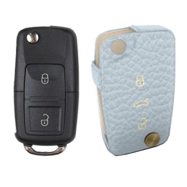Volkswagen 専用 Type-D Car Key Case Shrink Leather Case