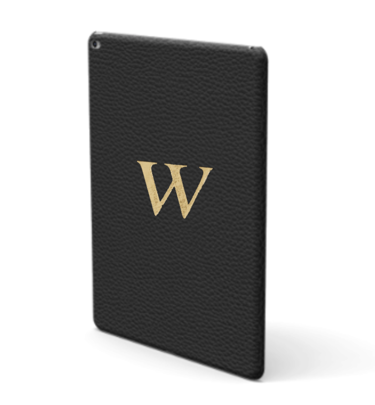 iPad Premium Shrink Leather Case (Ink Black)