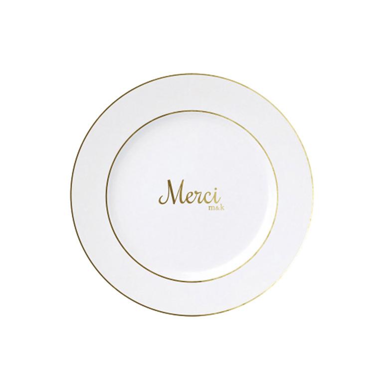 Merci Classic Plate