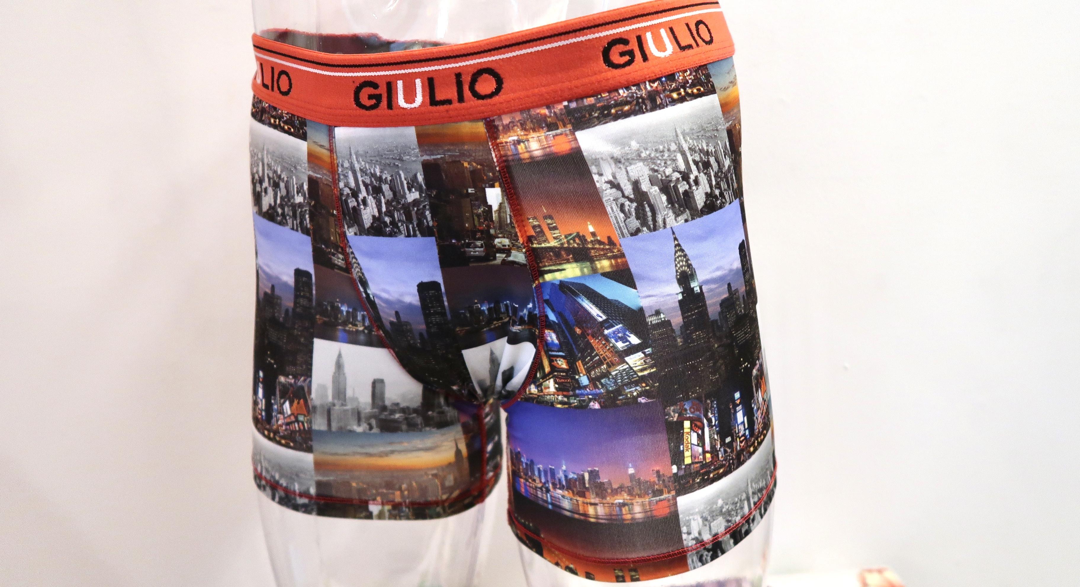 GIULIO<ジュリオ> メンズ ボクサーパンツ スペイン、バルセロナの有名下着ブランドのGIULIOです!