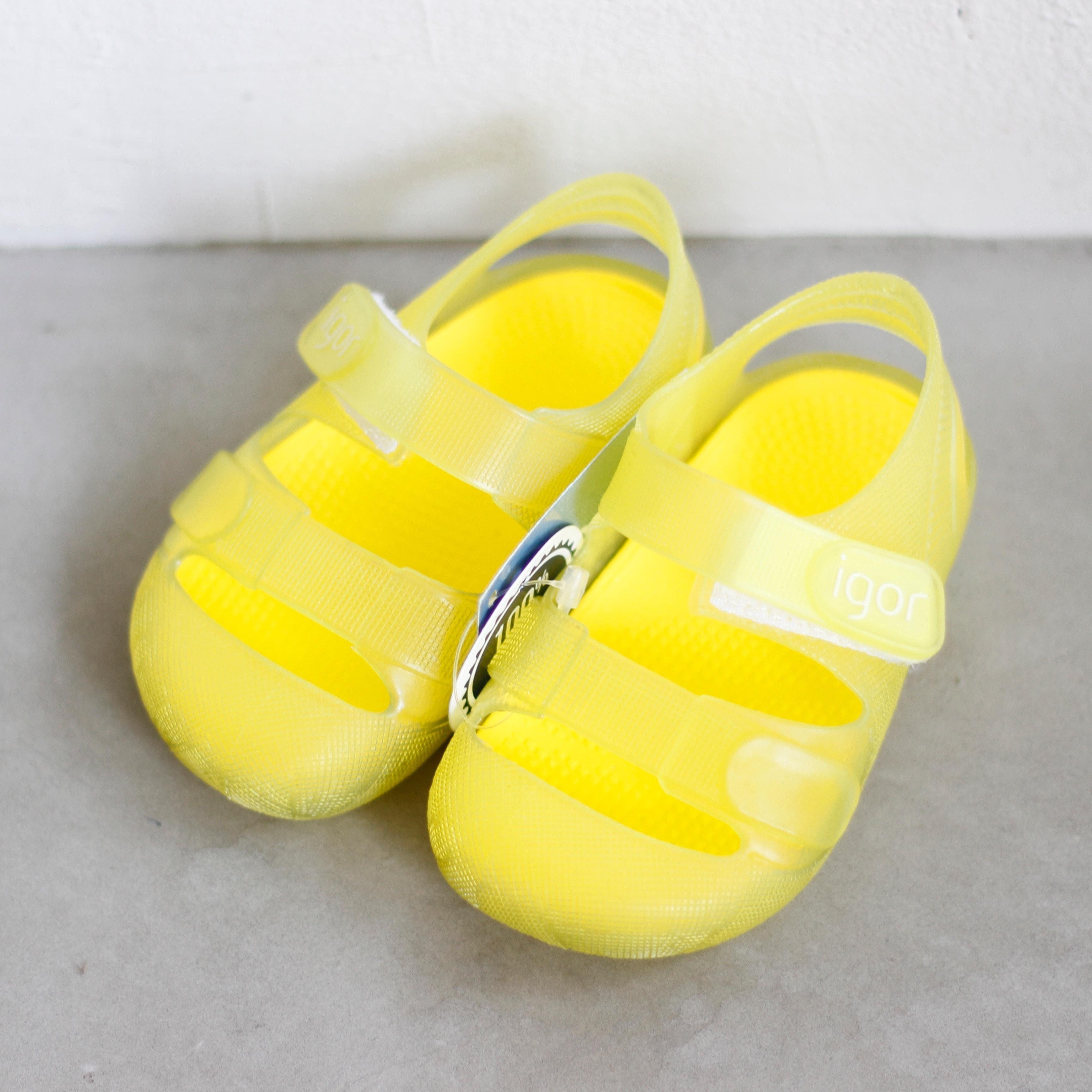 《igor》BONDI / Amarillo(yellow) / 16.5cm・17cm