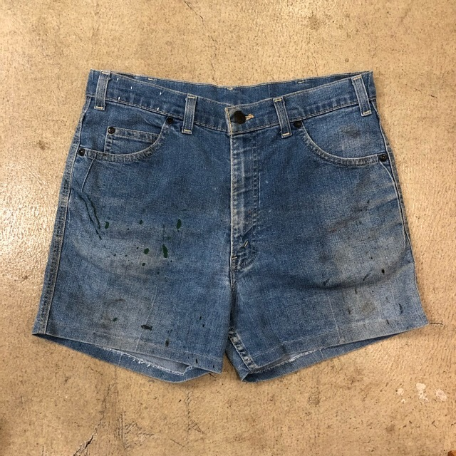 Levi's Cut Off Denim Short Pants