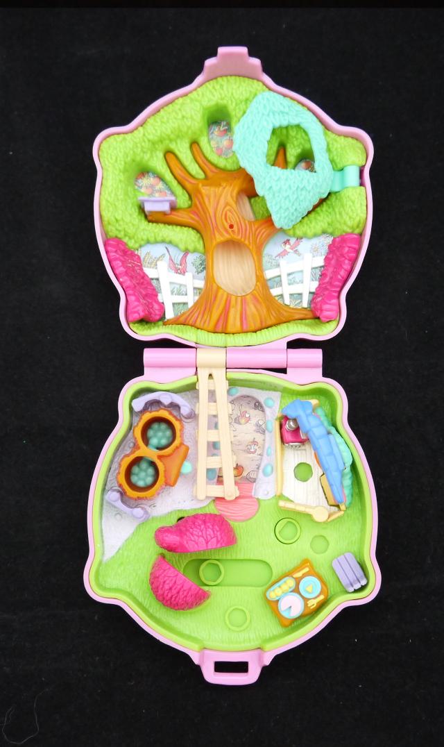 ポーリーポケット ディズニー  ドナルドとチップ&デールのコンパクト  レア!!