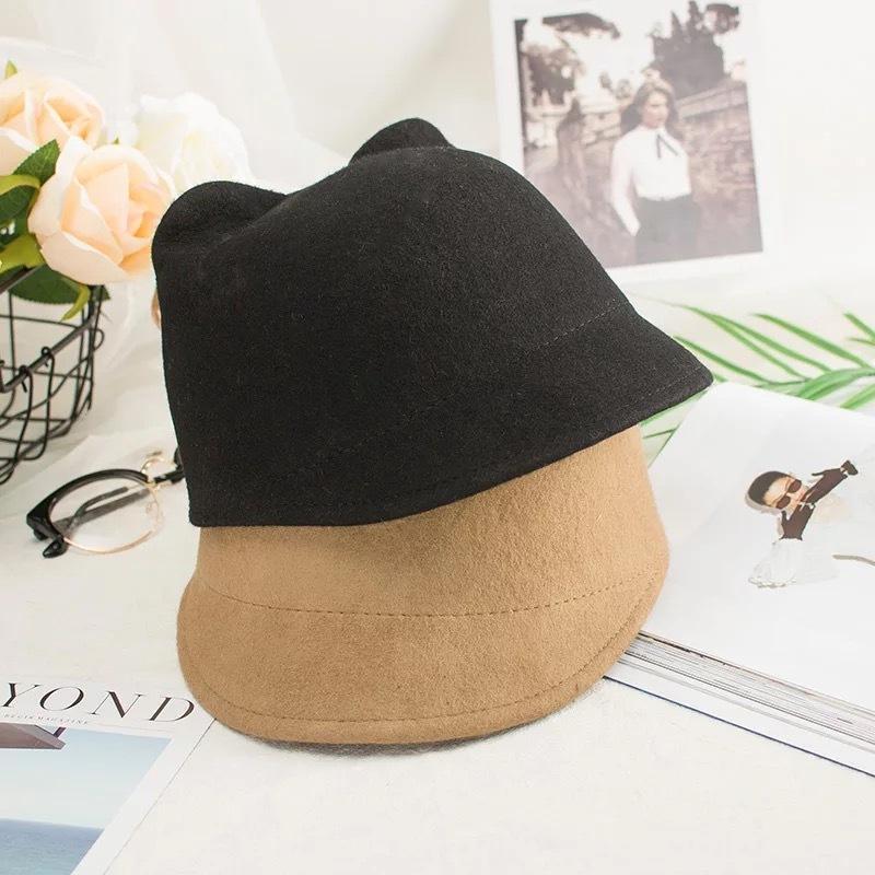 ネコ型帽子【569】