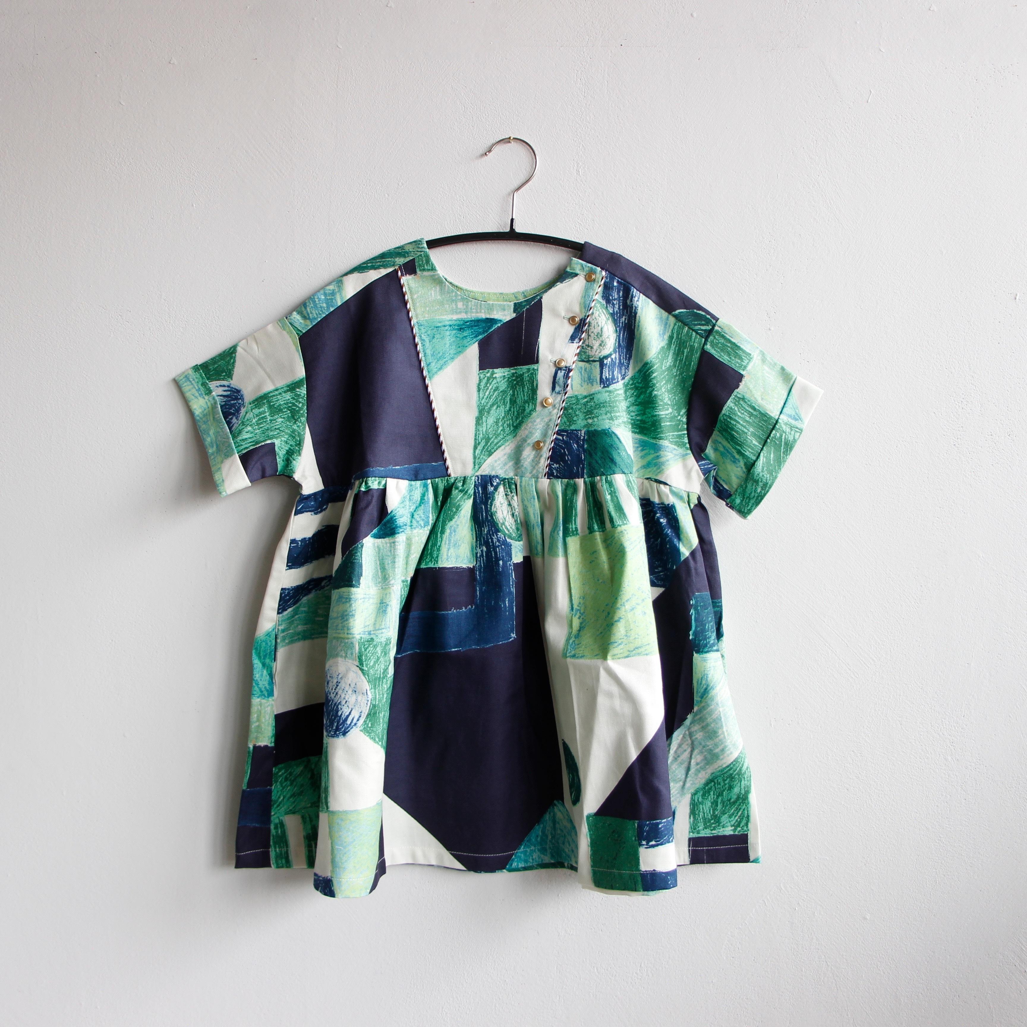 《eLfinFolk 2020SS》Maghreb dress / green / 90-100cm