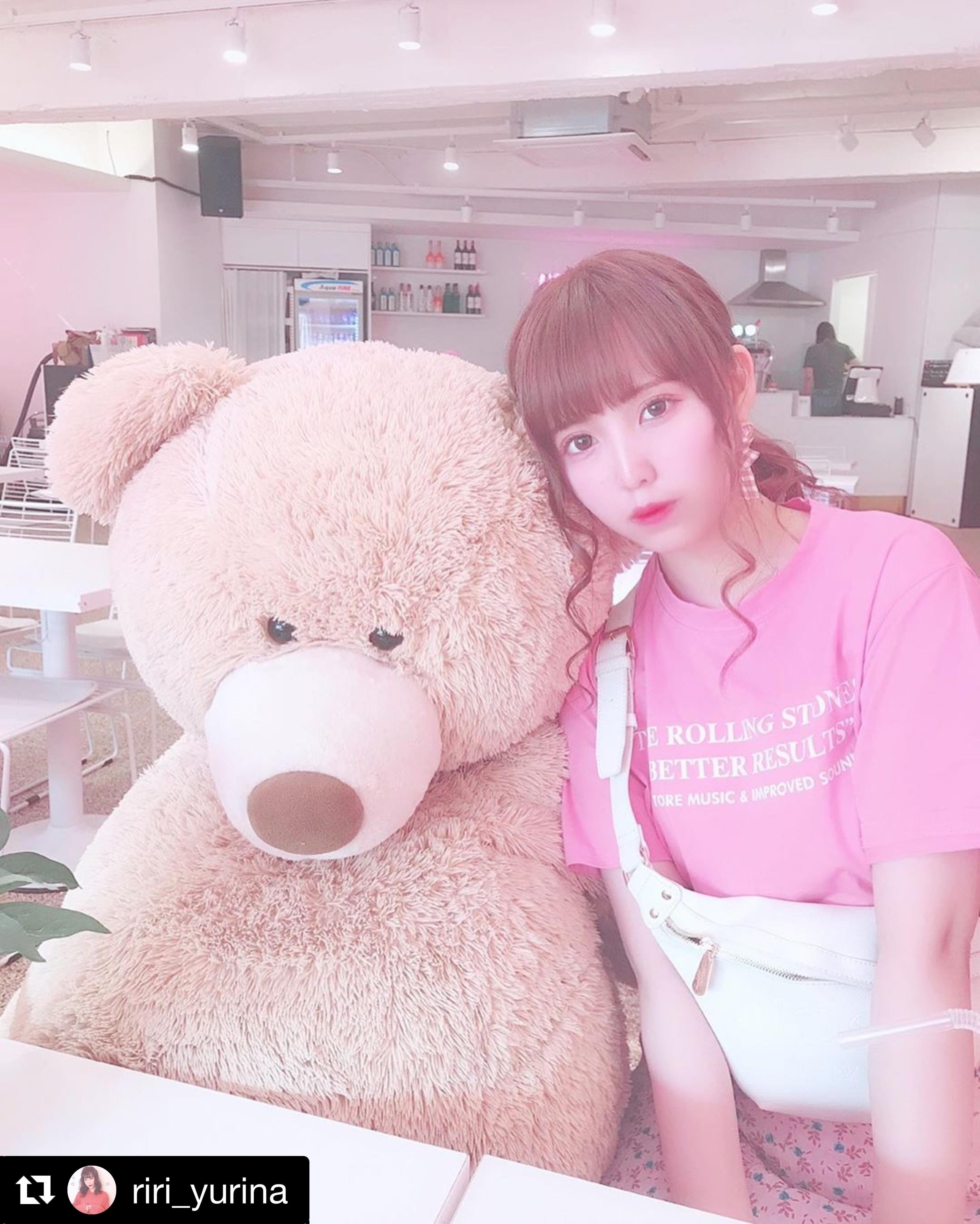 【送料無料】 ピンクコーデ♡ セットアップ ロゴ Tシャツ + 花柄 プリーツ ロング スカート 2点セット