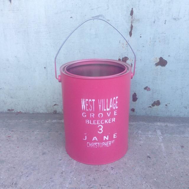 リメイク缶  ピンク