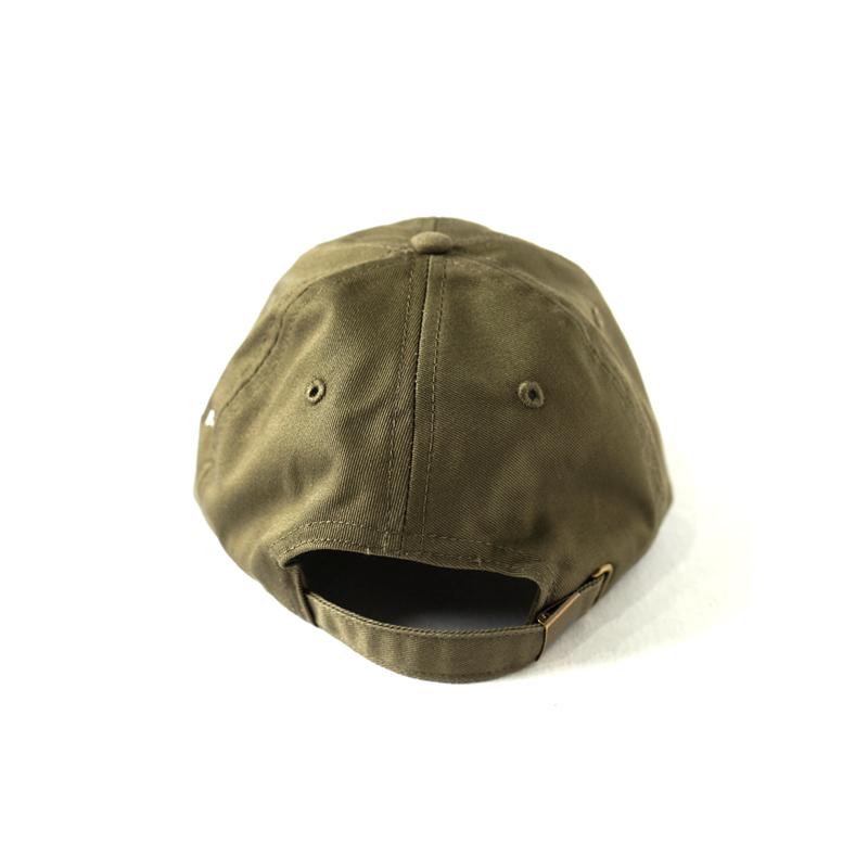 LOGO TWILL CAP <Olive×White> - 画像2