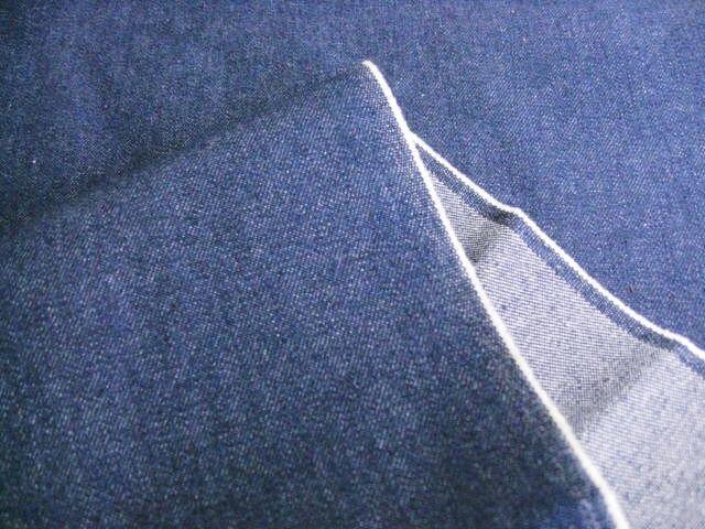 綿ストレッチ ソフトブルーデニム 9~10オンス