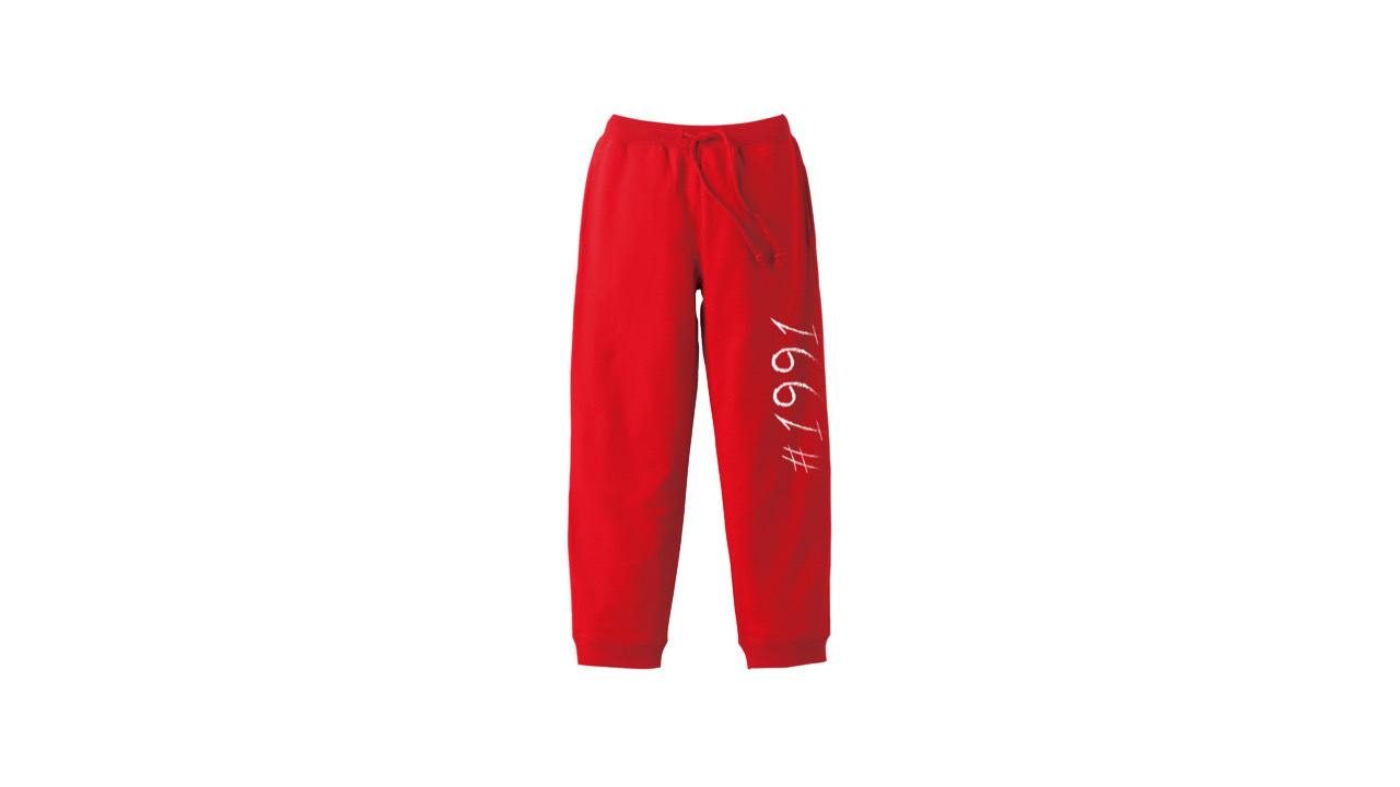 1991 sweat pants (RED)