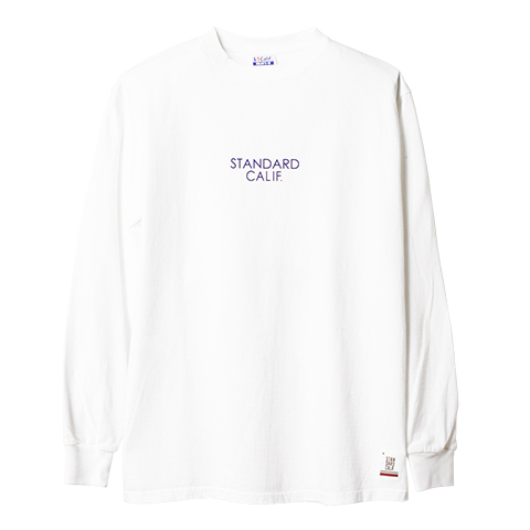 STANDARD CALIFORNIA #SD Heavyweight Long Sleeve T With Logo
