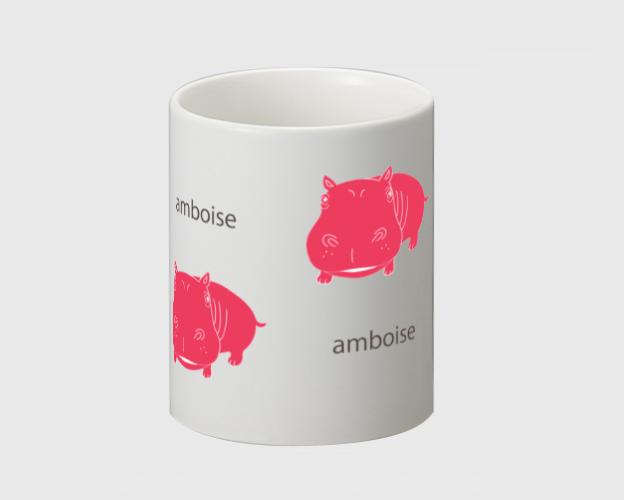 マグカップ ☆amboise×ピンク