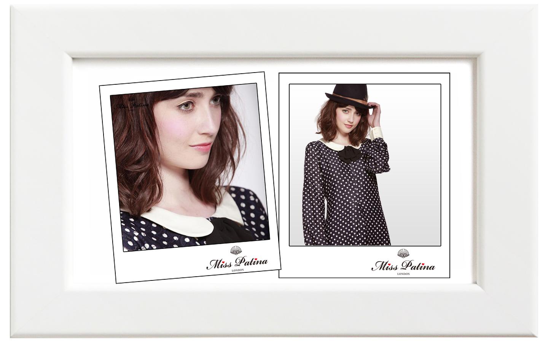 Miss Patina/ミス・パティーナ Oriel ドレス/ネイビー