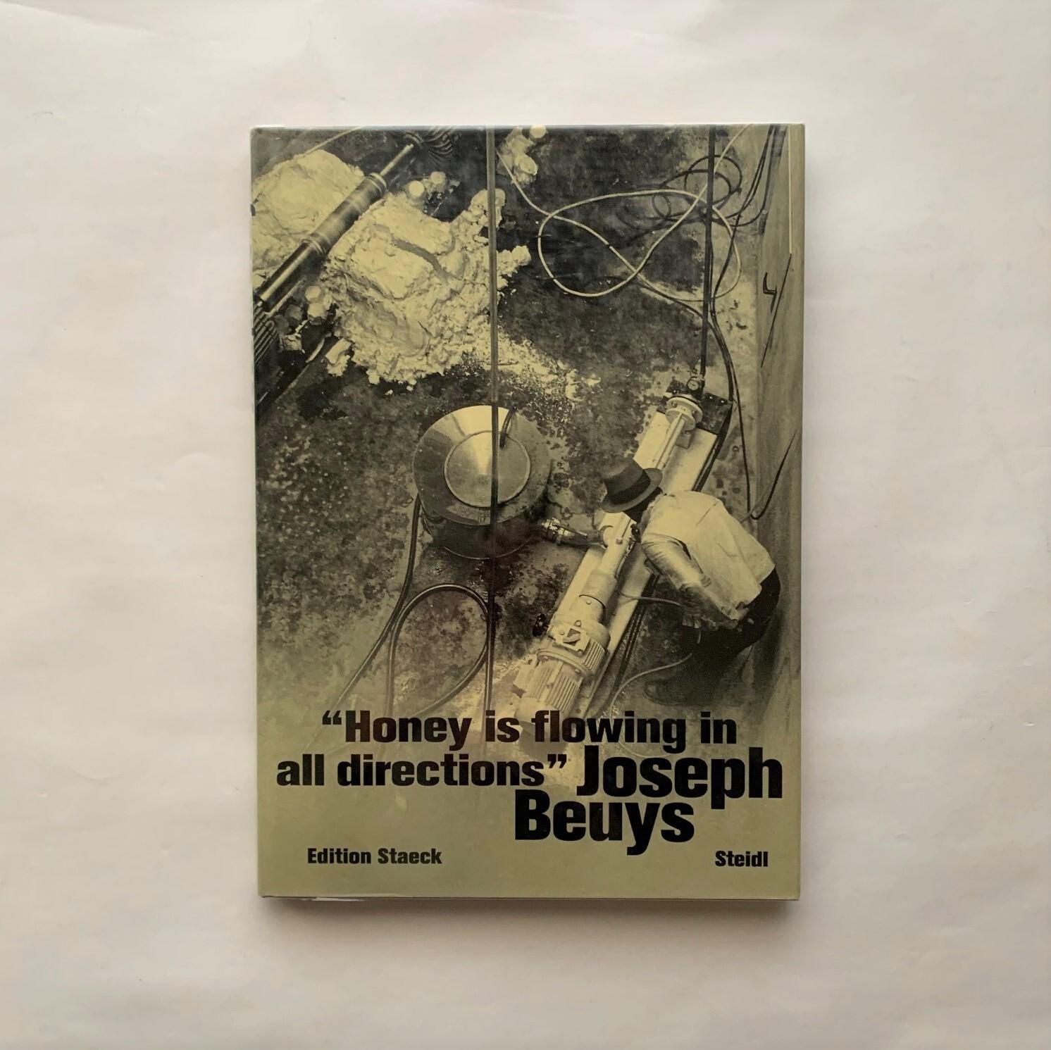 Honey Is Flowing in All Directions / Joseph Beuys  / Gerhard Steidl  / Klaus Staeck
